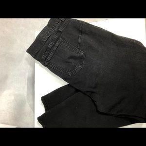 Torrid premium Bombshell skinny black jeans, EUC.